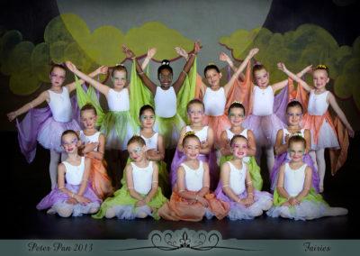 Liezel Marais Dance Academy - Show 2013 - Peter Pan - Fairies