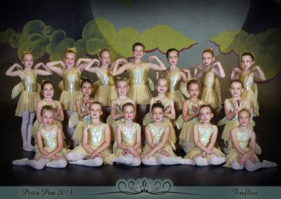 Liezel Marais Dance Academy - Show 2013 - Peter Pan - Fireflies