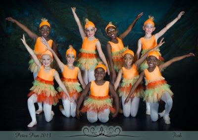 Liezel Marais Dance Academy - Show 2013 - Peter Pan - Fish