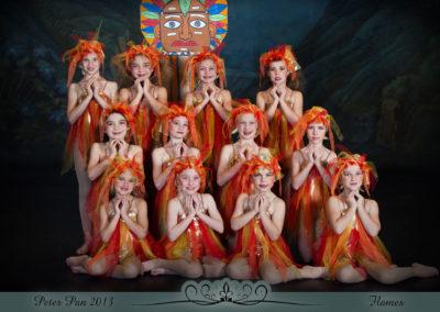 Liezel Marais Dance Academy - Show 2013 - Peter Pan - Flames