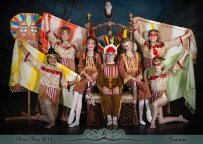 Liezel Marais Dance Academy - Show 2013 - Peter Pan - Indians