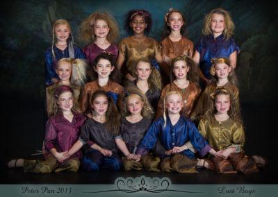 Liezel Marais Dance Academy - Show 2013 - Peter Pan - Lost Boys
