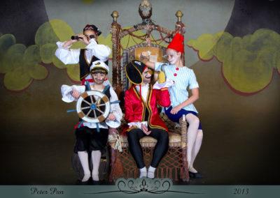 Liezel Marais Dance Academy - Show 2013 - Peter Pan - Captain Hook and his crew