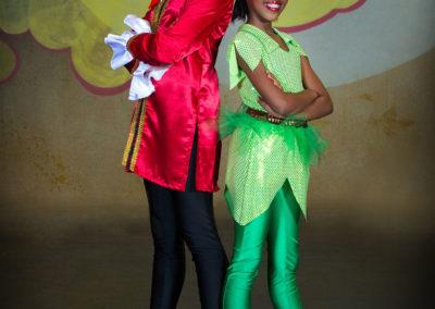 Liezel Marais Dance Academy - Show 2013 - Peter Pan - Captain Hook and Peter Pan