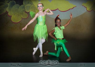 Liezel Marais Dance Academy - Show 2013 - Peter Pan - Tinker Bell and Peter Pan