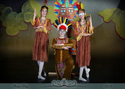 Liezel Marais Dance Academy - Show 2013 - Peter Pan - Main Indians