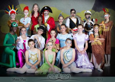 Liezel Marais Dance Academy - Show 2013 - Peter Pan - Main Characters