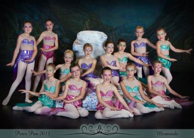 Liezel Marais Dance Academy - Show 2013 - Peter Pan - Mermaids