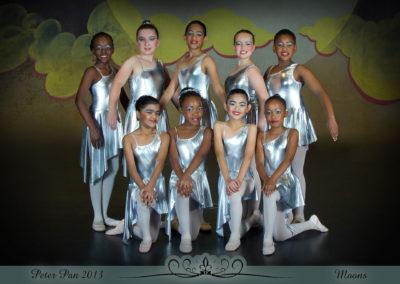 Liezel Marais Dance Academy - Show 2013 - Peter Pan - Moons