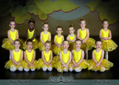 Liezel Marais Dance Academy - Show 2013 - Peter Pan - Pixie Dust