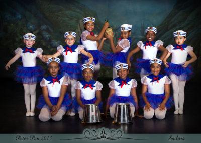 Liezel Marais Dance Academy - Show 2013 - Peter Pan - Sailors