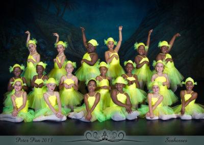 Liezel Marais Dance Academy - Show 2013 - Peter Pan - Seahorses