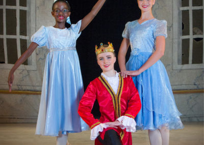Liezel-Marais-Dance-Academy-The-Ruby-Slipper-2015-Fairy-Godmother,-Prince-and-Cinderella
